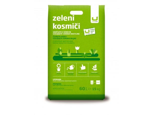 Zeleni kosmiči, 15 kg (60 l)