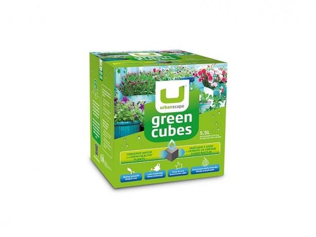 Zelene kocke, 600 g
