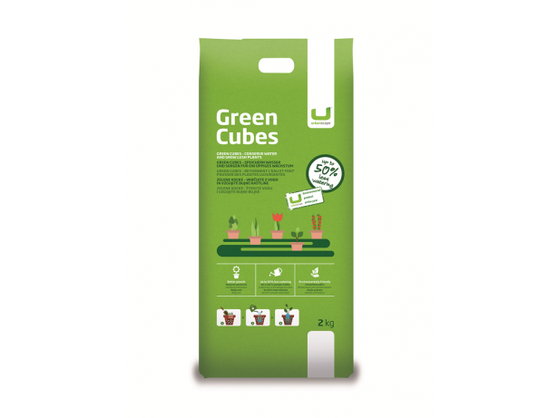 Green Cubes PNG